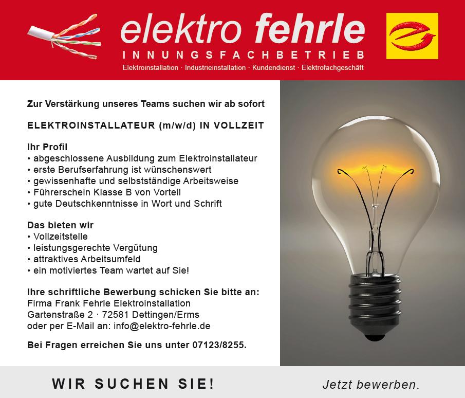 stellenanzeige_elektro_fehrle